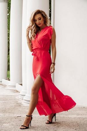 Sukienka maxi Miranda czerwona