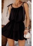 Sukienka na ramiączkach Tropic czarna