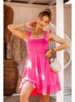 Sukienka Neon różowa