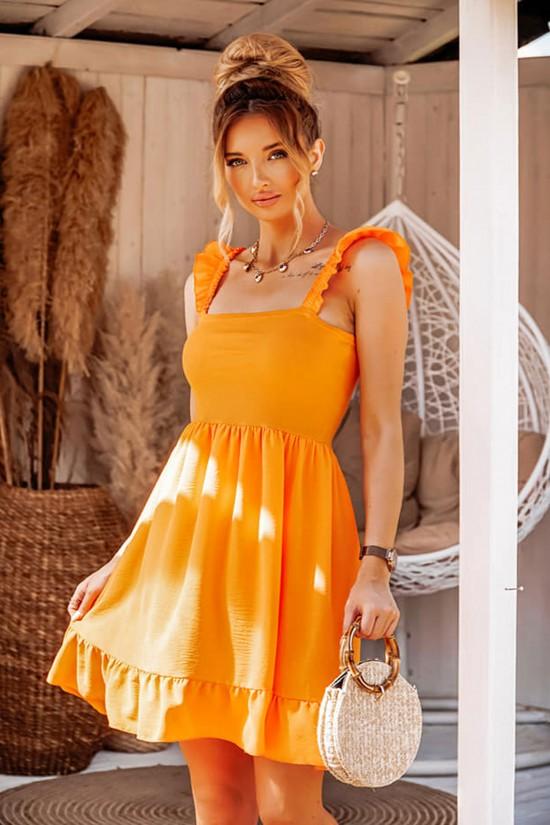 Sukienka Neon pomarańczowa