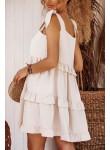 Sukienka Tunis beżowa