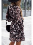 Sukienka jesienna Edith multikolor