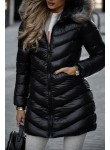 Płaszcz pikowany Ralf czarny