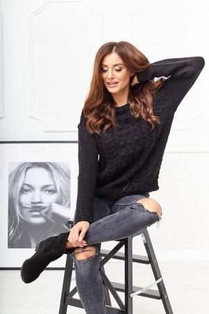 Sweter Bubble czarny