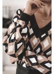 Bluzka sweterkowa Diamond