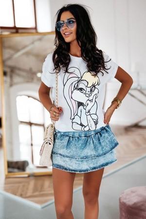 Bluzka t-shirt biały Lola