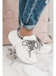 Buty sportowe białe Sporty Snake