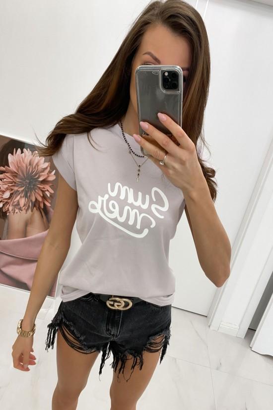 Bluzka t-shirt Summer lila
