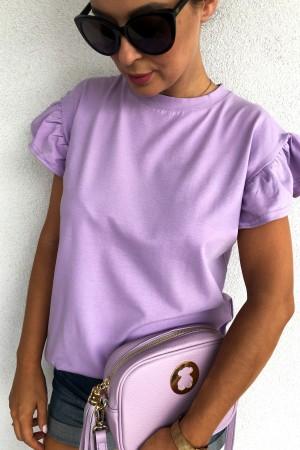 bluzka t-shirt lila Butterfly