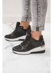 Adidasy sneakersy czarne Marati