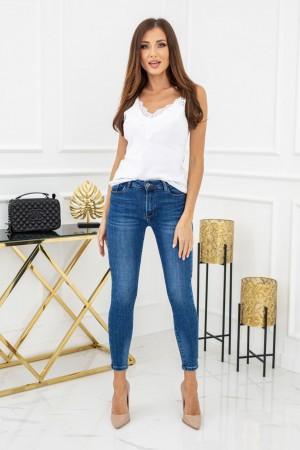 Spodnie jeansowe rurki Marcell