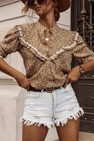 Koszula w kwiatowy wzór Zoe