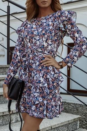 Sukienka w kwiatowy wzór Mistique