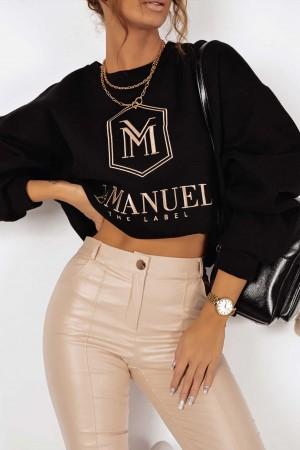 Bluza La Manuel Hoodey czarna
