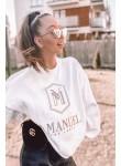 Bluza La Manuel Hoodey biała