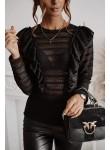 Bluzka koronkowa Sweet Whisper czarna