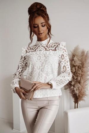 Bluzka koronkowa White Dream biała
