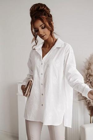 Koszula biała Long