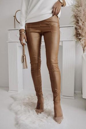 Spodnie woskowane Stay Classy camel