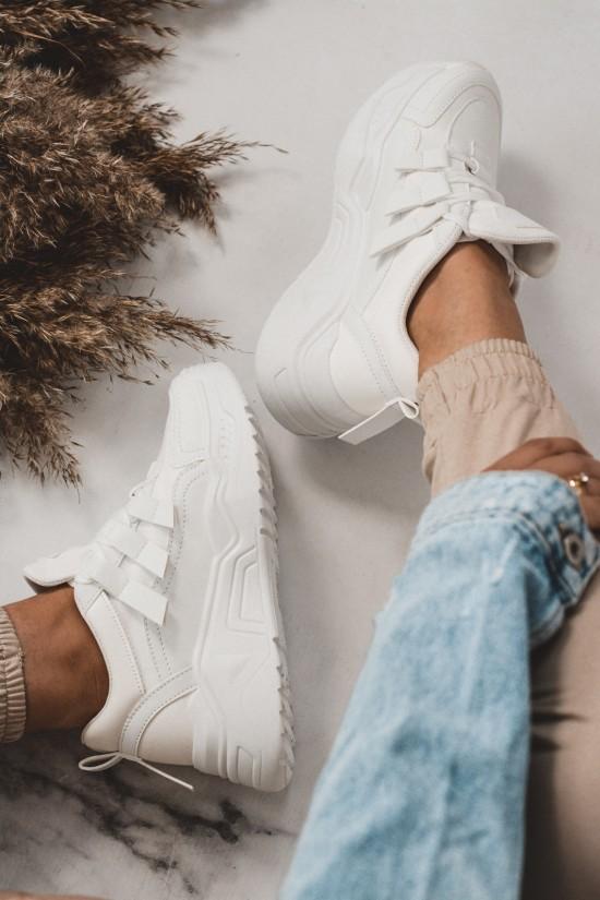 Buty sportowe adidasy Zoe białe