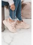 Buty sportowe adidasy Zoe pudrowy róż