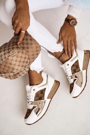 Buty sportowe adidasy Cleo białe