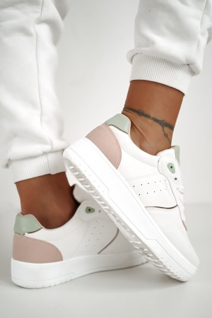 Buty sportowe trampki Lori białe