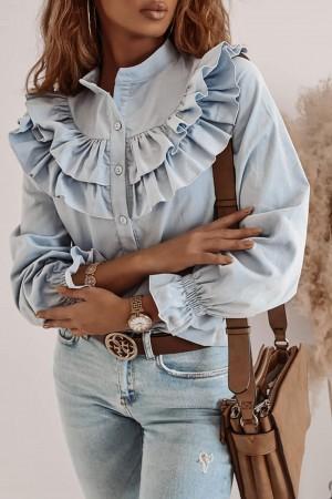 Koszula Flamanco błękitna