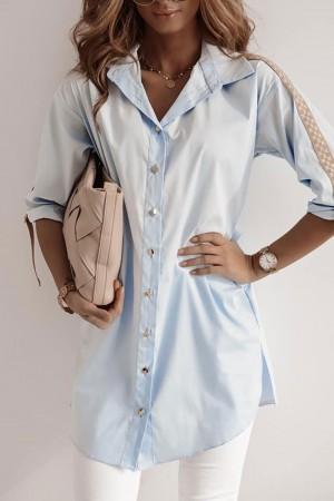 Koszula błękitna oversize Felia