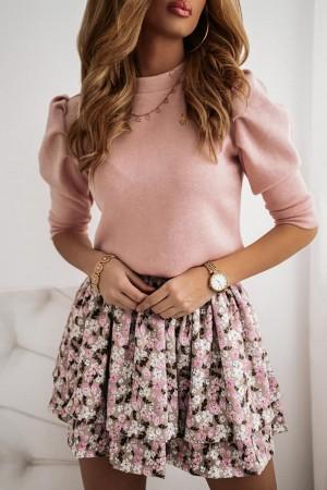 Bluzka Letia pudrowa różowa
