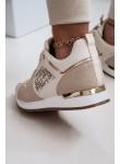 Buty sportowe adidasy Dreamer beżowe