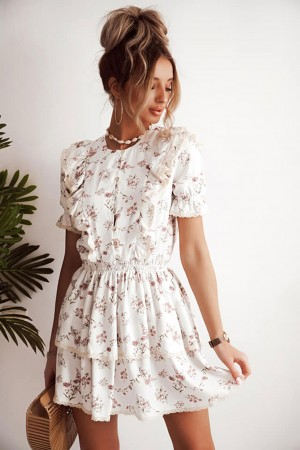 Sukienka Tina beżowa