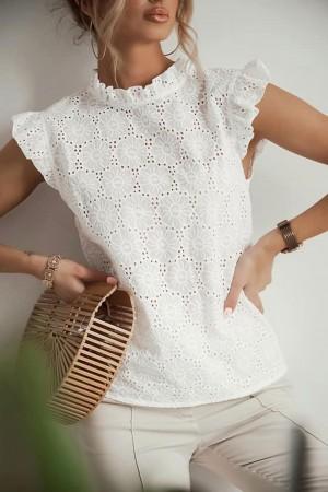 Bluzka ażurowa Summer biała