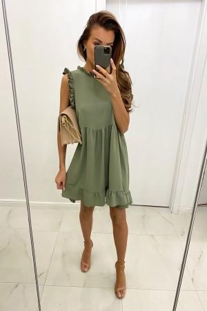 Sukienka Raisa khaki