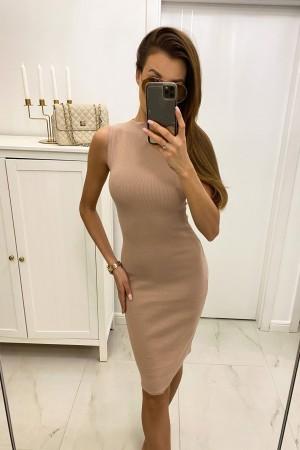 Sukienka ołówkowa Elen beżowa