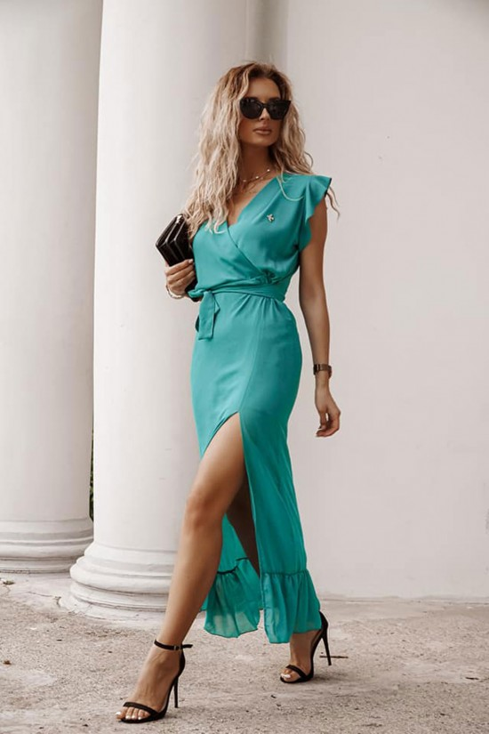 Sukienka maxi Miranda zielona